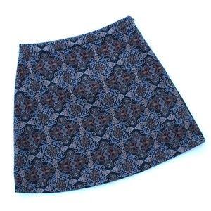 Cooperative Demascus Print Mini Skirt